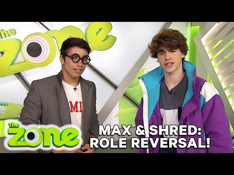 Max & Shred  Jake & Jonny Swap Roles!  The Zone