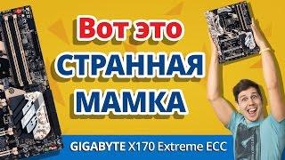 Обзор СТРАННОЙ Материнской Платы GIGABYTE X170 Extreme ECC
