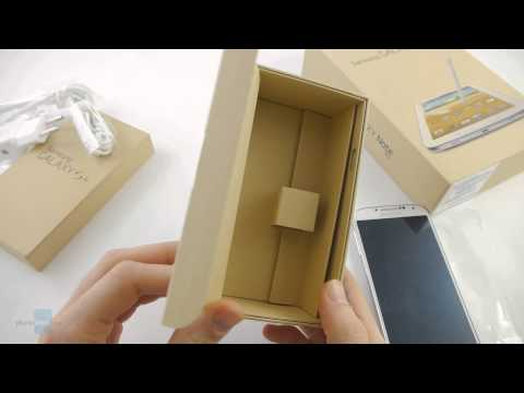Samsung Galaxy S4 and Galaxy Note 8.0 unboxing