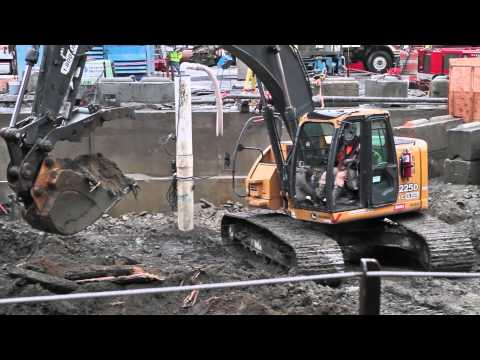 Digging down to repair the SR 99 tunneling machine