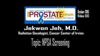 "510. ""PSA Screening"" by Jekwon Yeh, M.D., October 27, 2016."