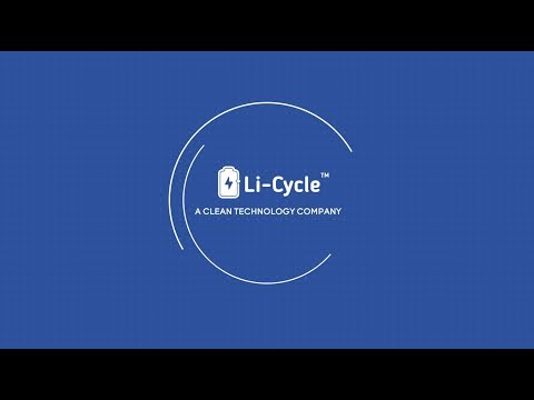 Li-Cycle Technology™ - Advanced Lithium Battery Recycling