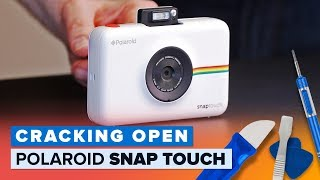 Polaroid Snap Touch camera printer combo teardown (Cracking Open)