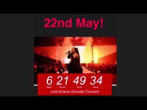 Ariana Grande Concert Countdown - ArianaGrandeFan