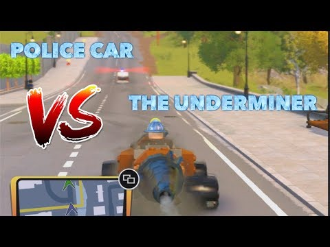 LEGO Incredibles: Underminer Drill vs Police Car Race!! Speed Series S9 Finale!