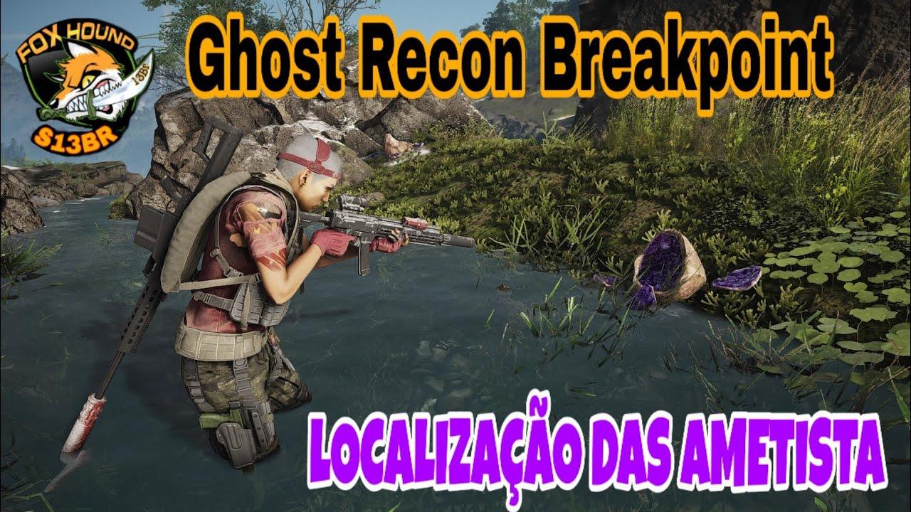 Ametista Dove Trovarla tom clancy's ghost recon® breakpoint localização das ametista