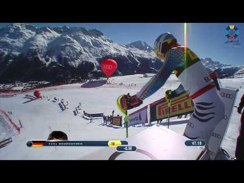 Men's Slalom Race 2 2017 FIS Alpine World Ski Championships, St. Moritz