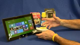 Microsoft Surface tablet plus the Socket CHS 7Xi Barcode Scanner(This video is brief demonstration of the Microsoft Surface tablet running with the Socket CHS 7Xi barcode scanner. The CHS 7Xi is a 2D / 1D lightweight and ..., 2012-11-12T23:25:37.000Z)