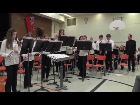 Port Elgin Saugeen Central School - Grade 8 Band 2013