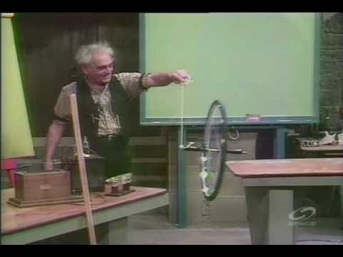 The Professor - Rotational Inertia and Gyroscopic Bicycle Wheels