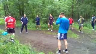 Федор Емельяненко тренируется в Старом Осколе