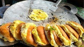 Delicious Egg Burger(Dim burger only @30Tk),Egg burger recipe street food
