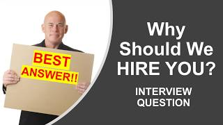 Download lagu Why Should We Hire You? Interview Question. #1 BEST ANSWER!