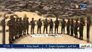أدرار: احباط عملية تهريب أسلحة وذخيرة قرب منطقة تيمياوين