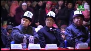 Абдишукур Нарматов   Аялдарга лекция