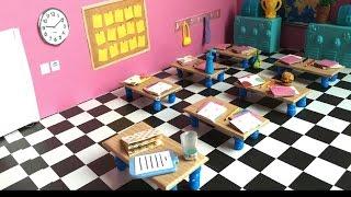 Kendin Yap ❤️ Sınıf Yapımı || Do It Yourself ❤️ How to make a LPS Class || Minişler Cupcake Tv