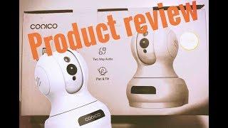 Conico WiFi Indoor Surveillance Camera review
