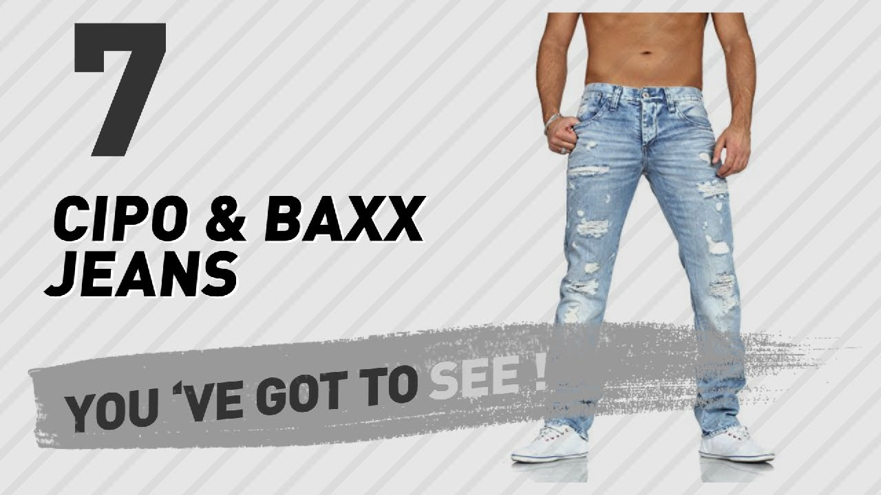 47083fdaafb337 Cipo   Baxx Jeans For Men    UK New   Popular 2017 - YouTube