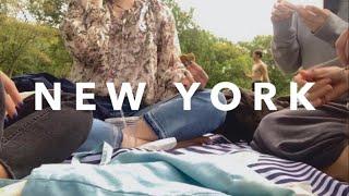 뉴요커들의 주말 일상 | 찐친들과 센트럴파크 피크닉. …