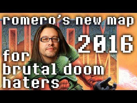 Romero's Doom Map - Classic Source Port (for Brutal Doom haters) 100% Secrets