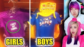 Double Standards That Actually Exist! Are These REAL? Boys Vs Girls