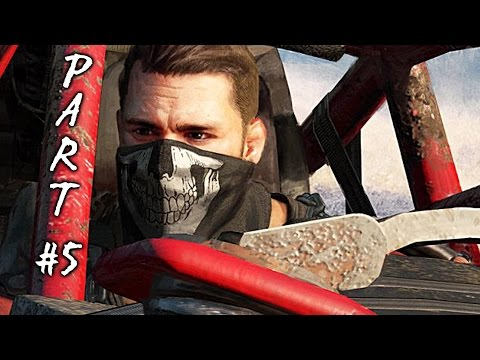 Dying Light The Following Walkthrough Gameplay Part 5 - Lazarus - Mission 5 (PS4 Xbox One)