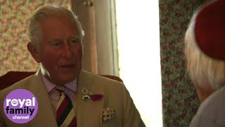 Gambar cover Prince Charles drops in for tea at Welsh farmhouse
