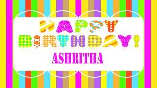 Ashritha   Wishes & Mensajes - Happy Birthday