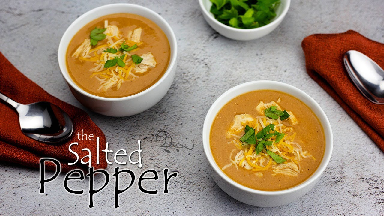 Better than Chili's Enchilada Soup! Made right in the Ninja Foodi Cold & Hot Blender