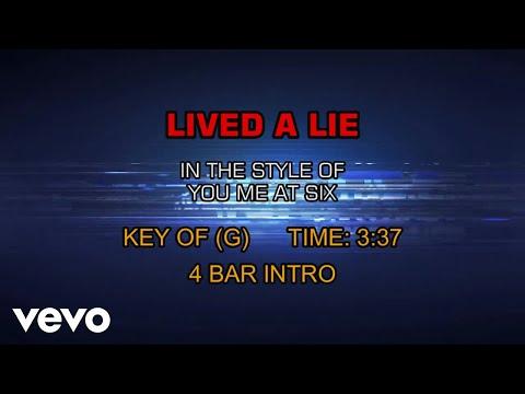 You Me At Six - Lived A Lie (Karaoke)