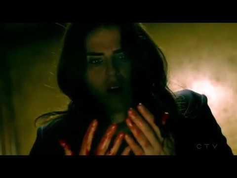 HTGAWM 04x08 - Laurel Bleeding Out In The Elevator (Midseason Finale)