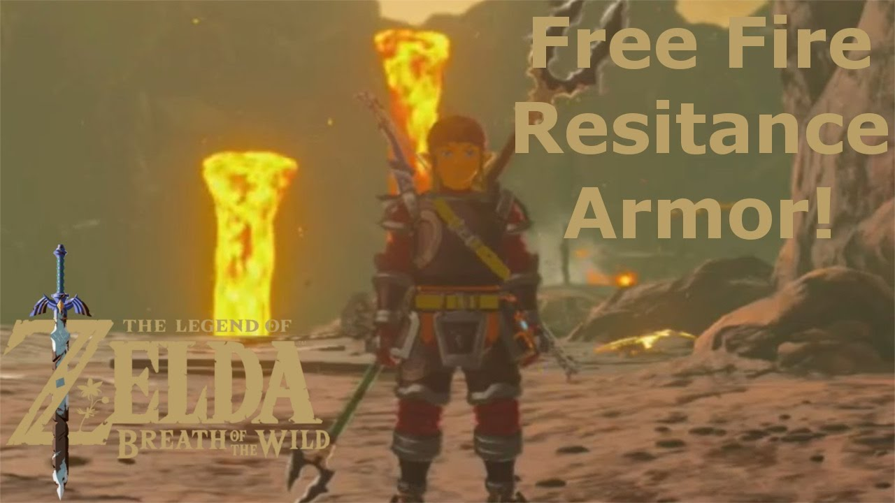 How to resist fire in breath of the wild