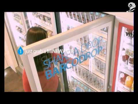 B DONATING 2 BARCODE WATER CHEIL WORLDWIDE Seoul, SOUTH KOREA