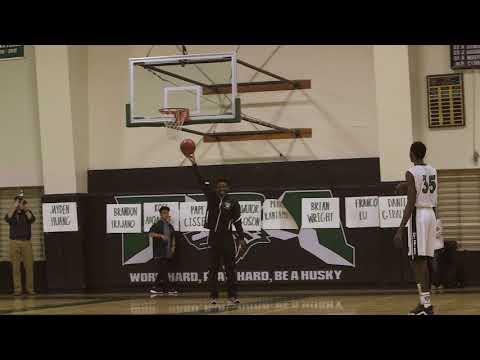 Huskies Boys Varsity Basketball - Slam Dunk Contest (Fairmont Preparatory Academy)
