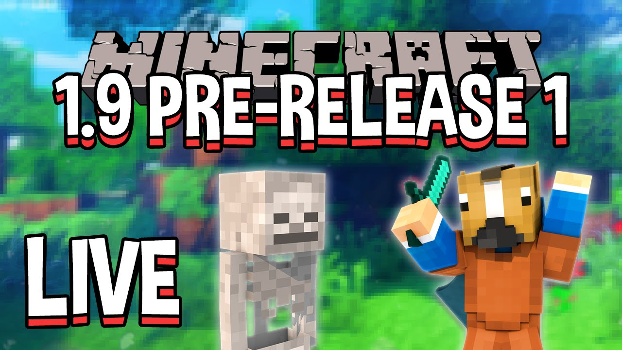 MINECRAFT 1.9 Pre-Release 1 Let's Play!!! Minecraft 1.9 ...
