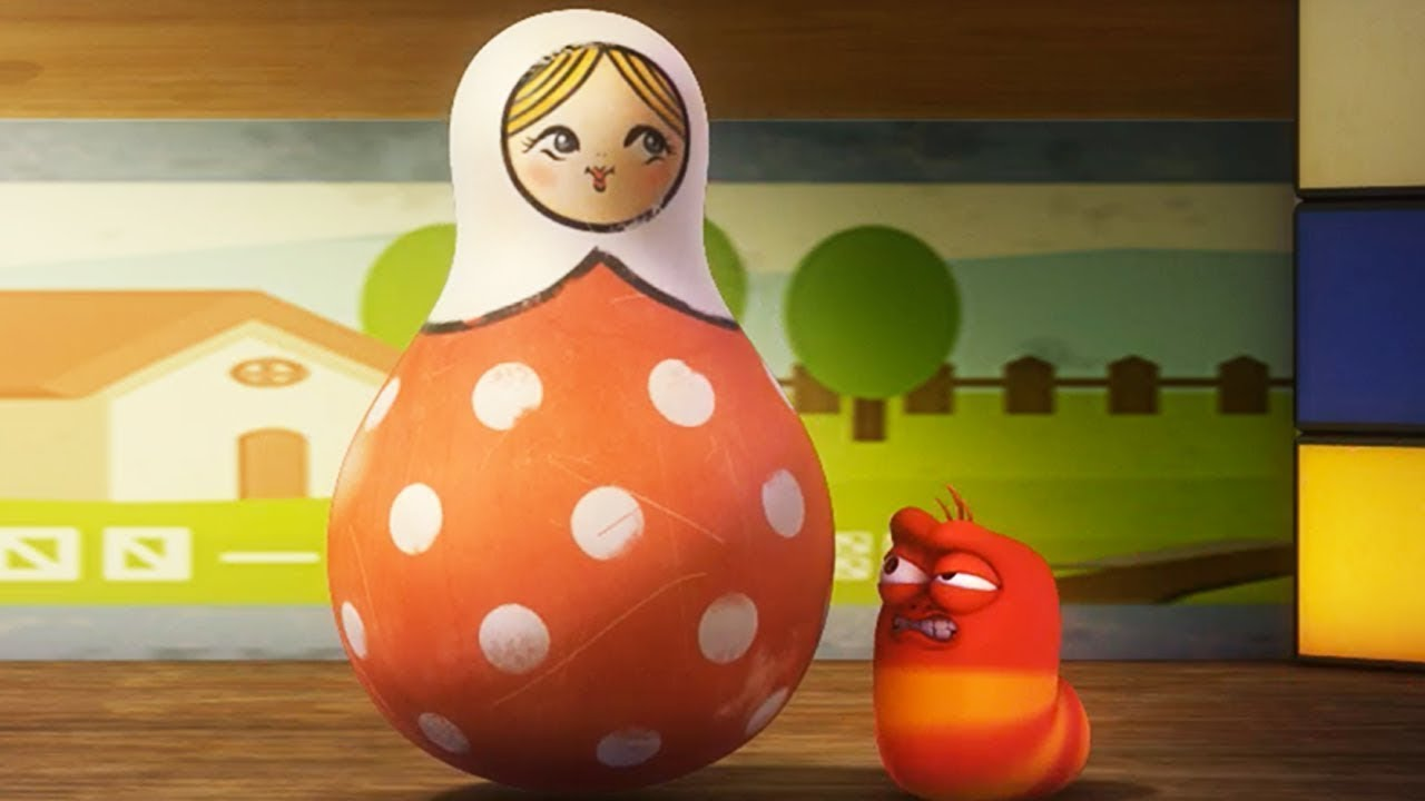 LARVA - ROLY-POLY TOY | Cartoons For Children | Larva 2018 | Larva Cartoon | WildBrain Cartoons