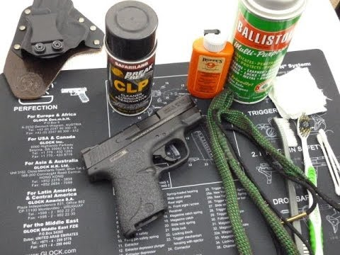 Gun Cleaning Tips - Cleaning the M&P Shield