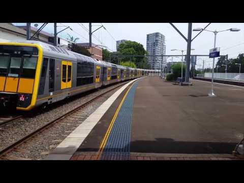 Sydney City Transport Vlog 100 Part 2#2: Suburban Trains in Sydney