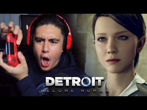 YOUR BOY HAD WAY TOO MUCH FUN BEING A ROBOT MAID | Detroit: Become Human [2]