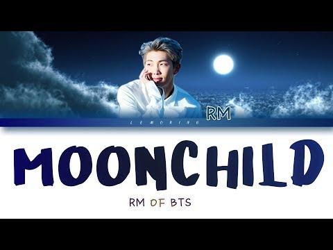 BTS RM (방탄소년단 알엠) - Moonchild [Color Coded Lyrics/Han/Rom/Eng]