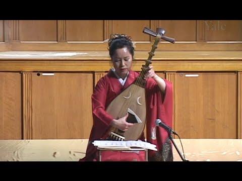 Yoko Hiraoka, a Lecture/Recital of Japanese Biwa Music