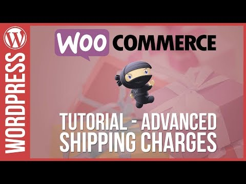 WOOCOMMERCE: Advanced Shipping Charges & Fees - 동영상