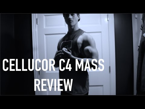 BRAND NEW Cellucor C4 MASS First Thoughts/flexing