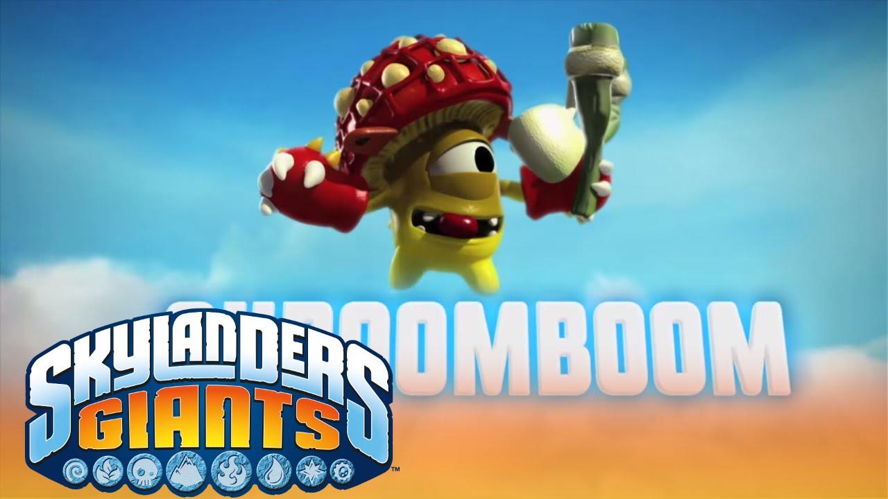 meet the skylanders shroomboom