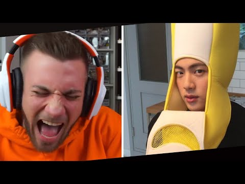 REACTION To BANANA JIN In HOUSE OF ARMY 😂😂 FloderFlo K-Pop Clips