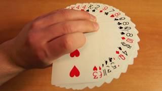 Карточные Трюки #9: Самый красивый карточный веер! Как делать безумно визуальный веер?