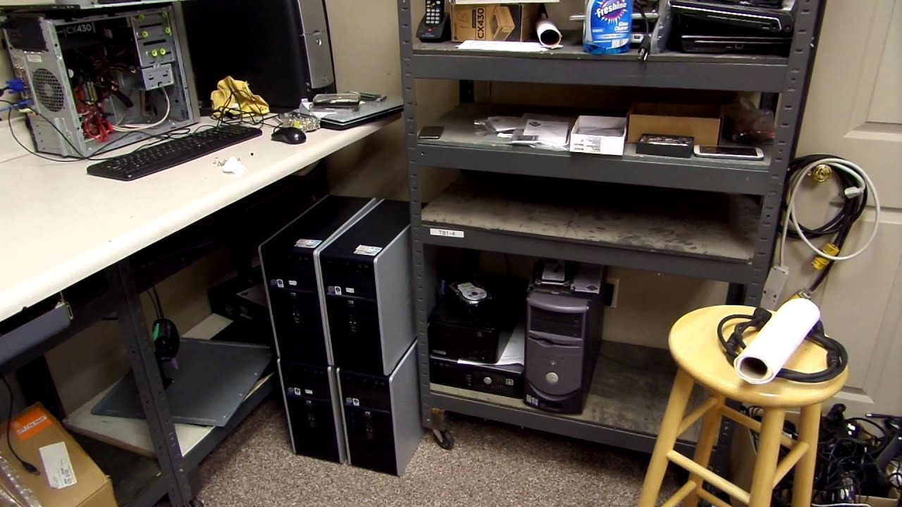 Tour Of A Computer Repair Shop 7 22 14