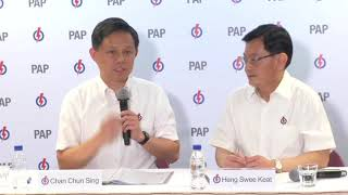 Chan Chun Sing's remarks after his appointment as PAP's second assistant secretary-general