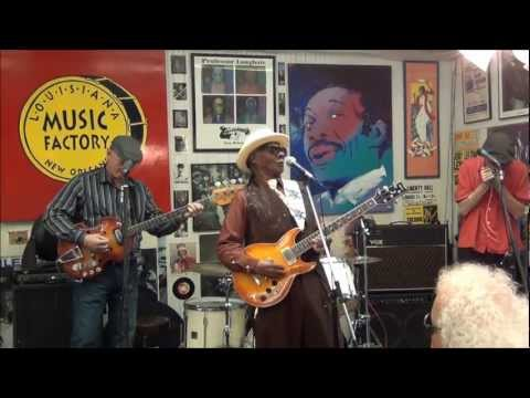 Little Freddie King @ Louisiana Music Factory 2012