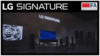 LG at IFA 2019 - LG SIGNATURE